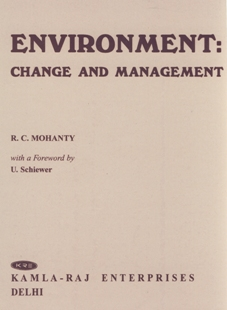 ENVIRONMENT CHANGE AND MANAGEMENT