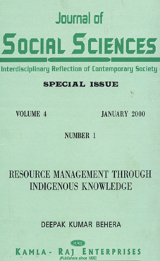 RESOURCE MANAGEMENT THROUGH INDIGENOUS KNOWLEDGE