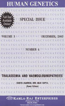 THALASSEMIA AND HAEMOGLOBINOPATHIES