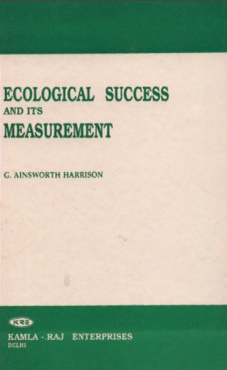 ECOLOGICAL SUCCESS AND ITS MEASUREMENTS