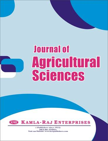 Special Volume -  Agricultural Sciences