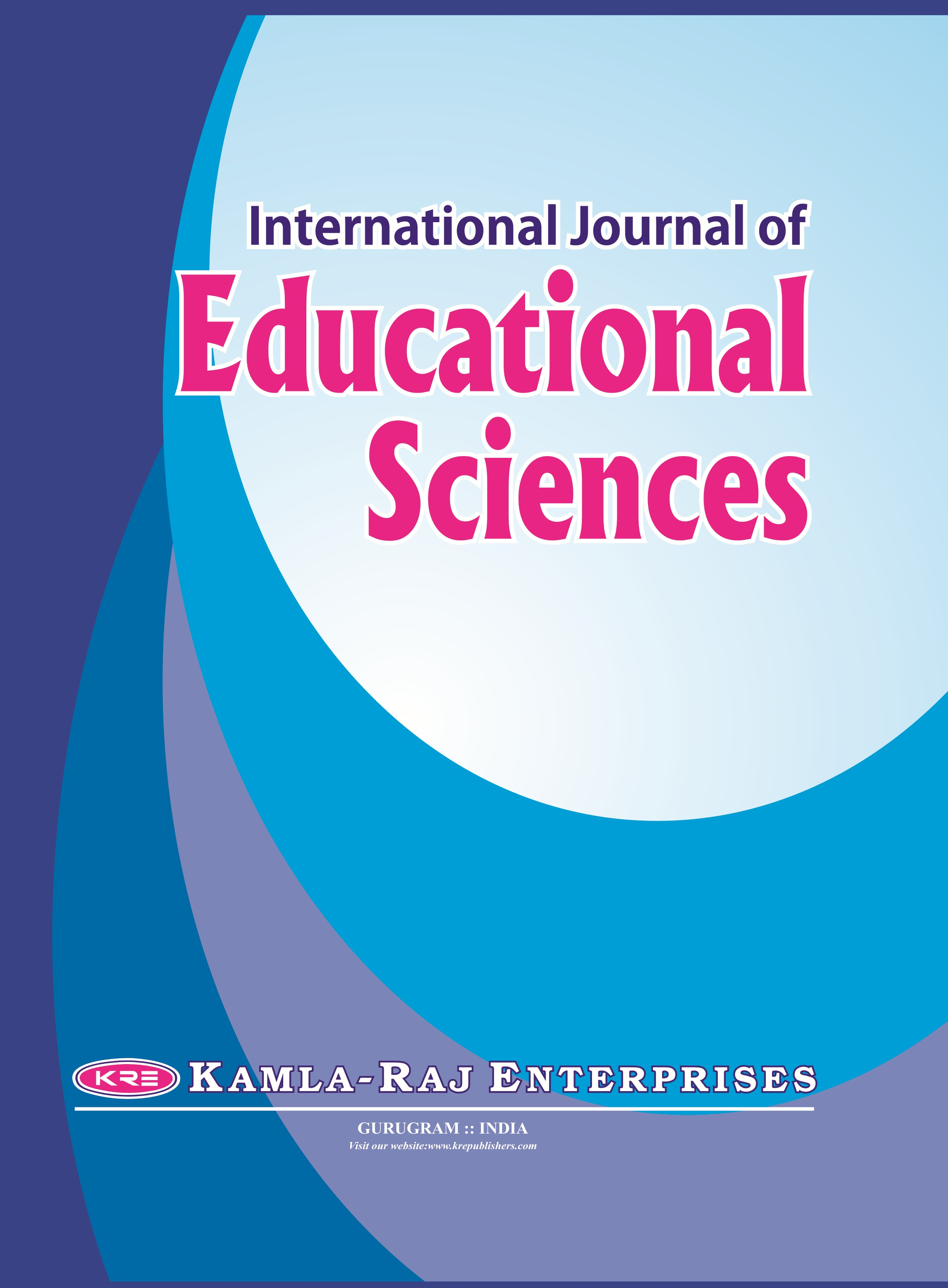 International Journal of Educational Sciences